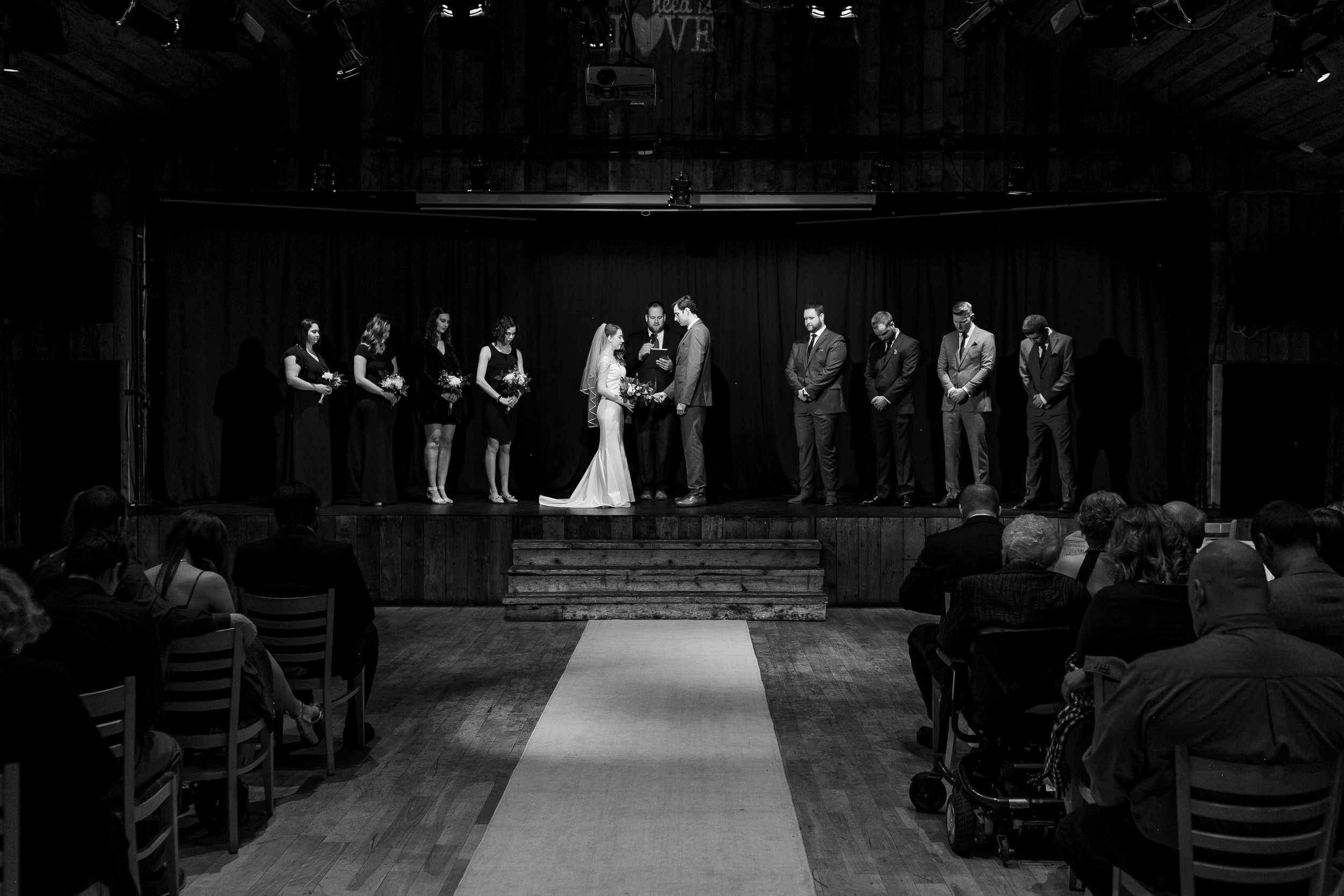 Wedding Photographer Cornerstone Theatre Canmore