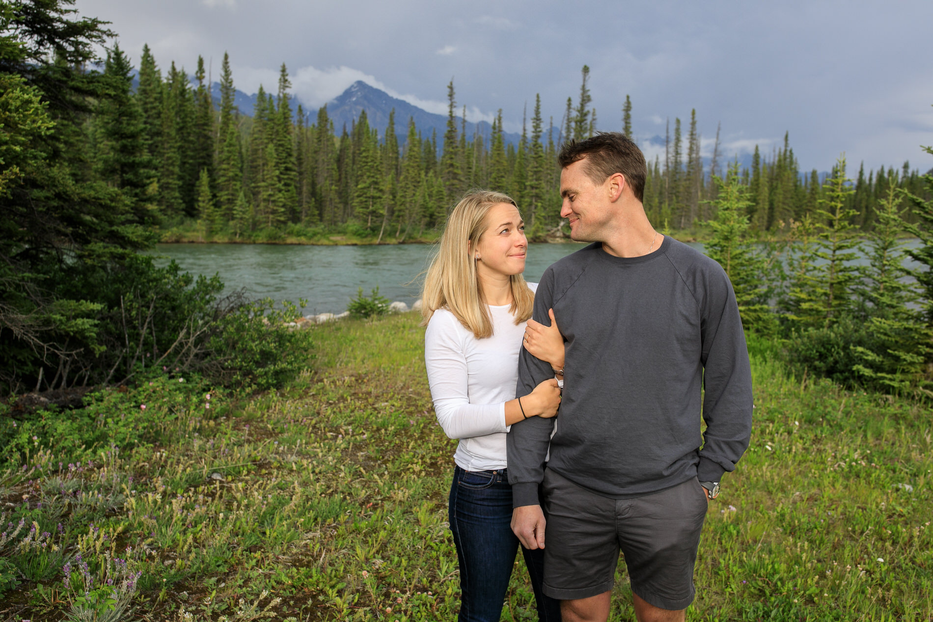 Castle Mountain Surprise Proposal
