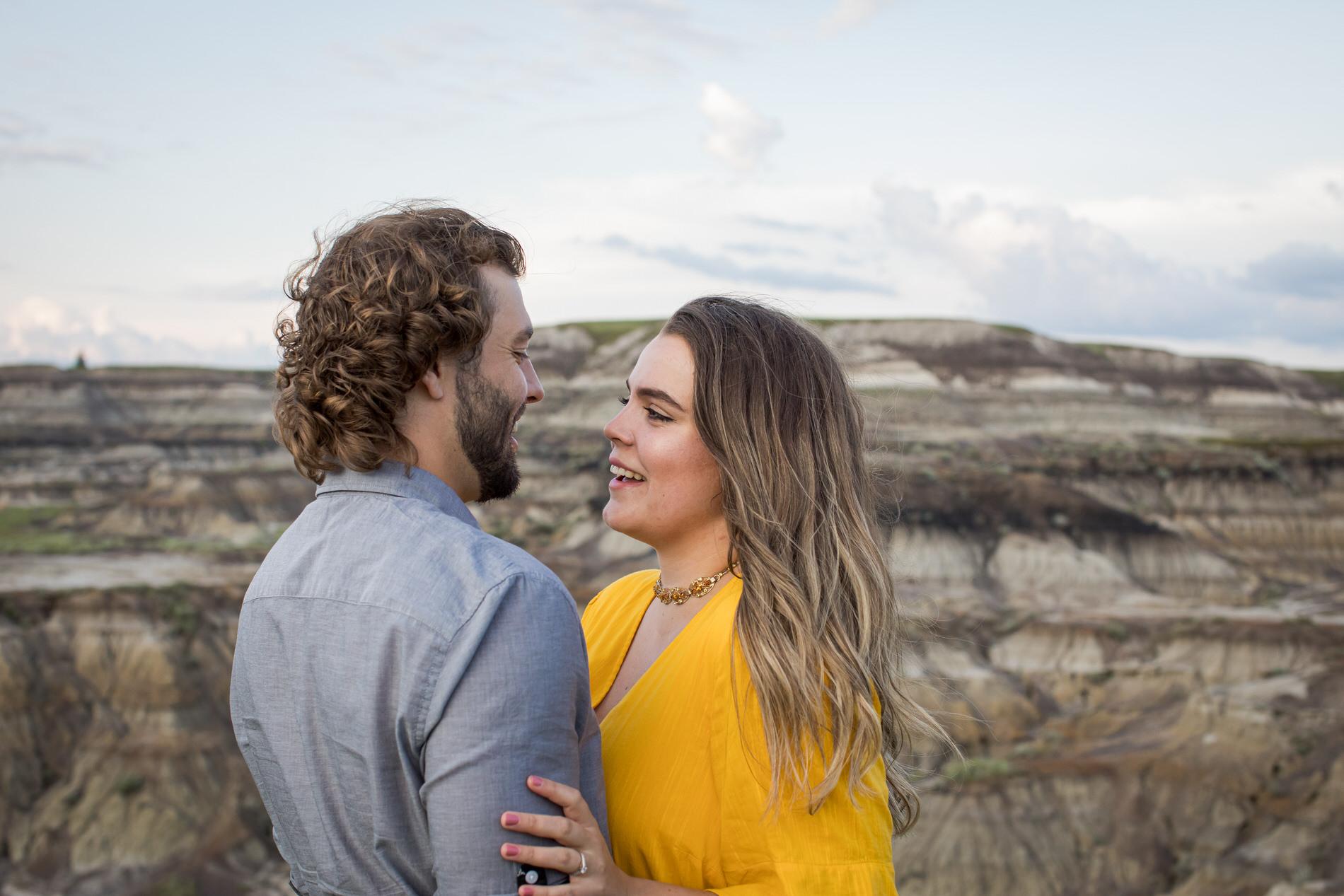 Engagement Photos Horseshoe Canyon