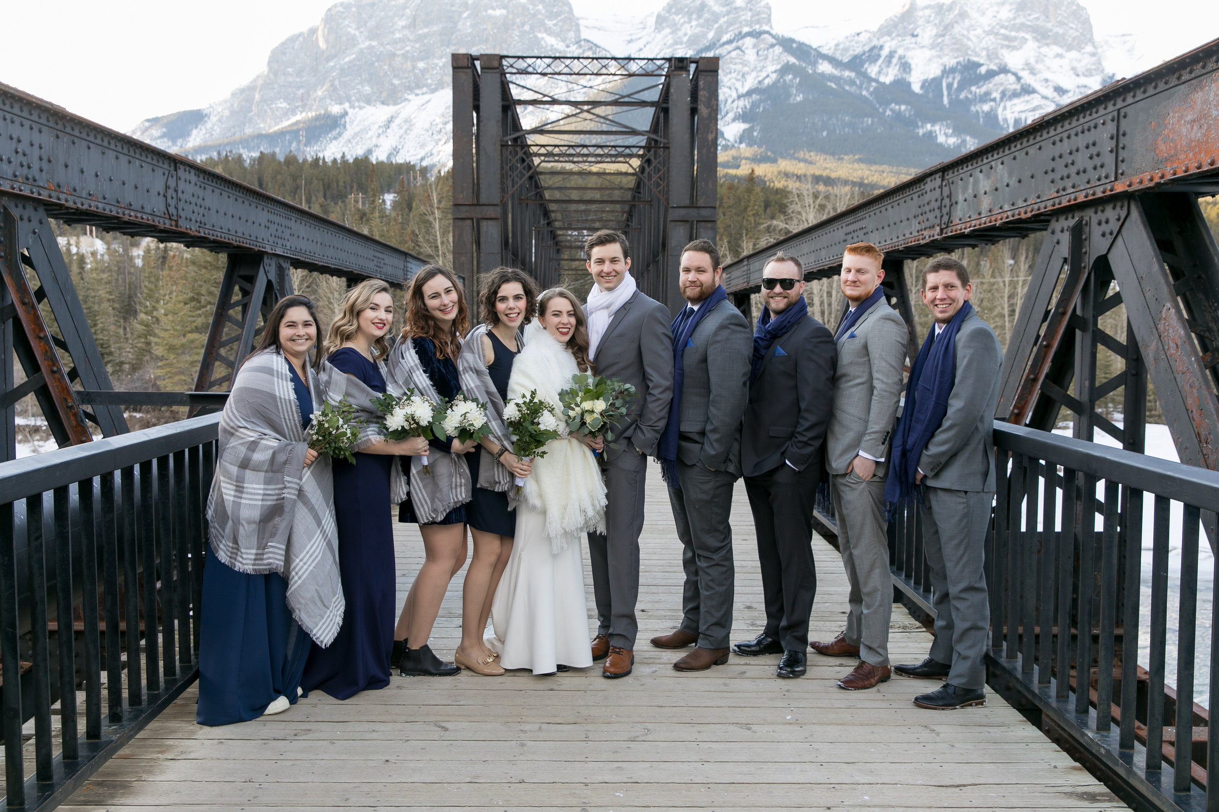 Canmore Wedding at Cornerstone Theatre