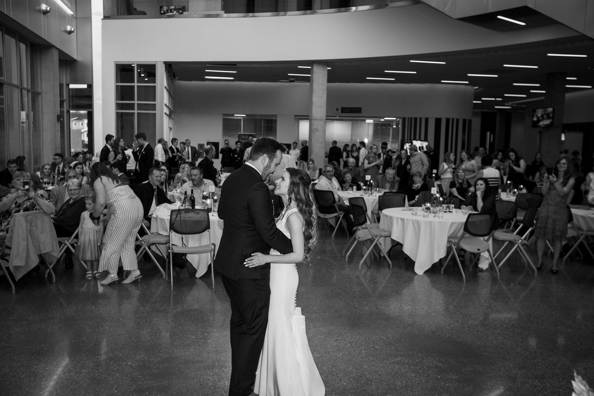 Wedding photo NAIT Productivity and Innovation Centre