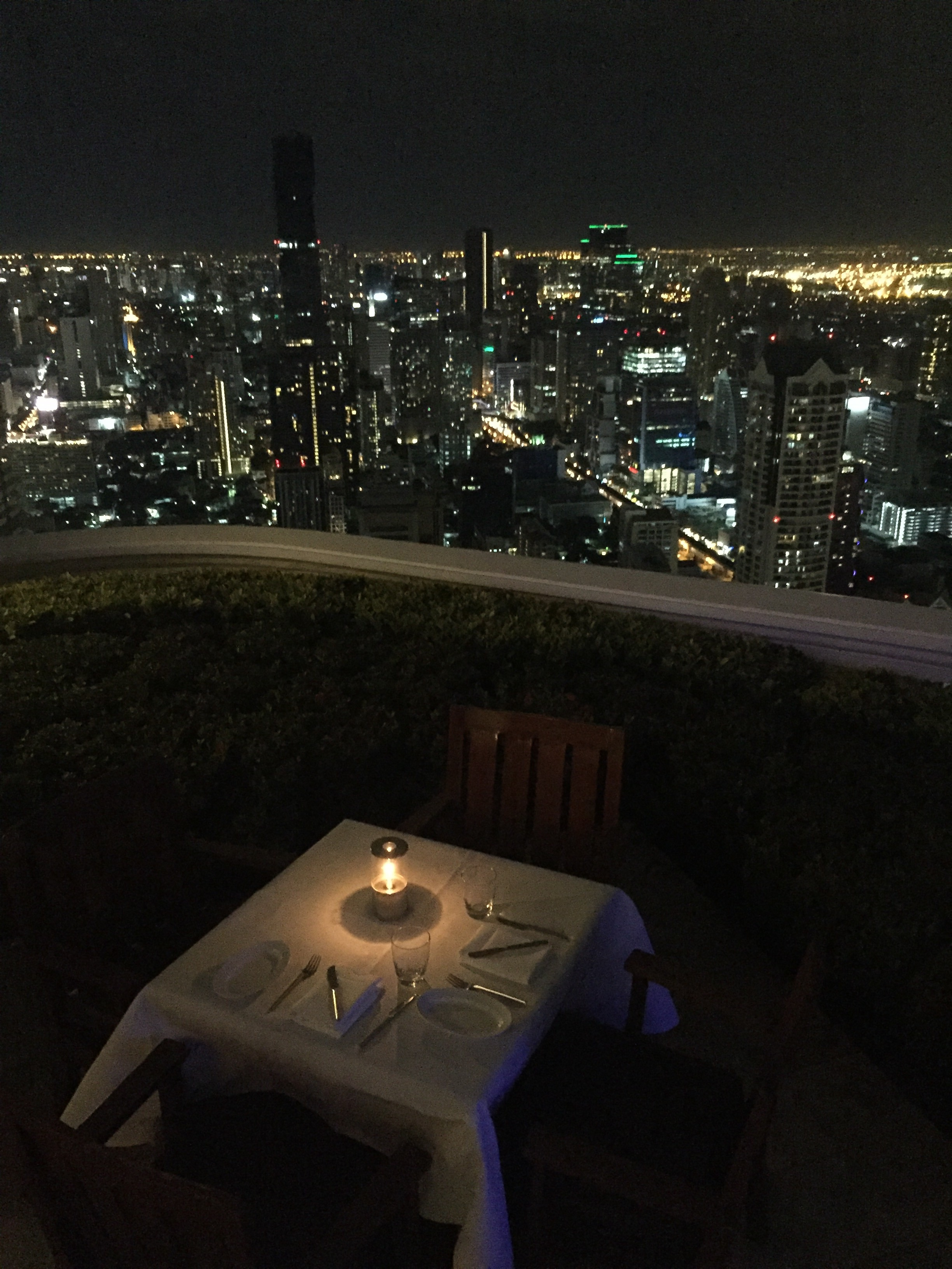 You can have a dinner in a best place of Bangkok