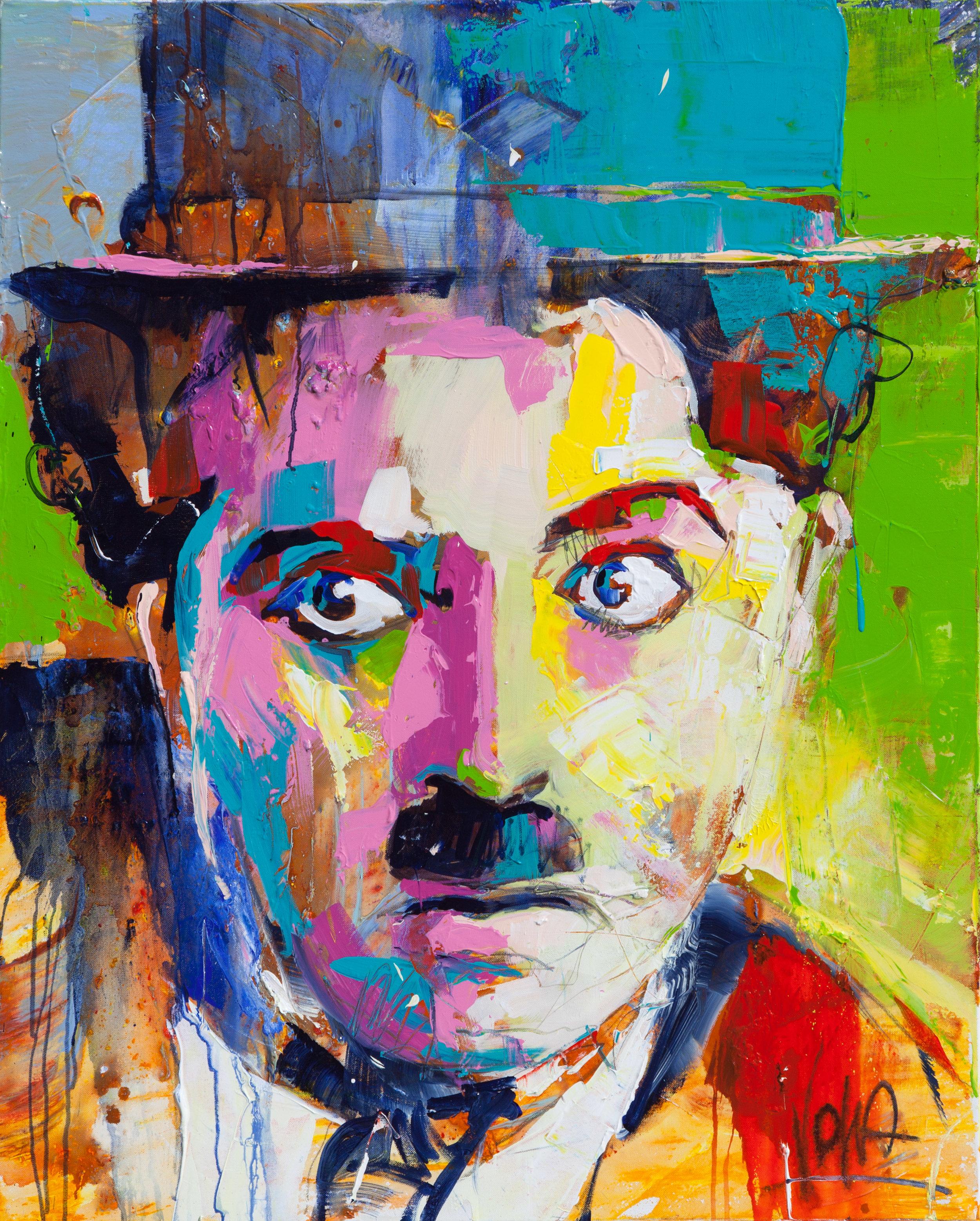 Charly, 100x80 cm/39,4x31,5 inch, Acrylic on Canvas
