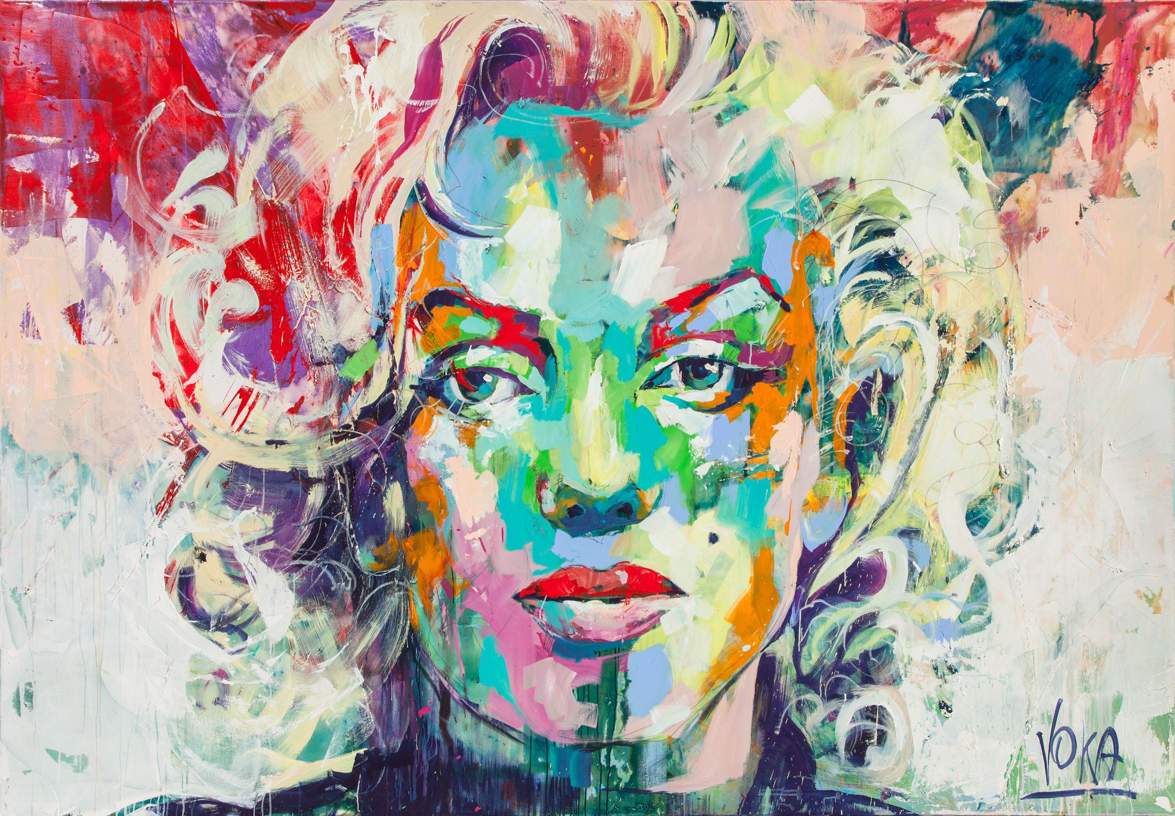 Marilyn, 190x280 cm/74,8x110,2 inch, Acrylic on Canvas