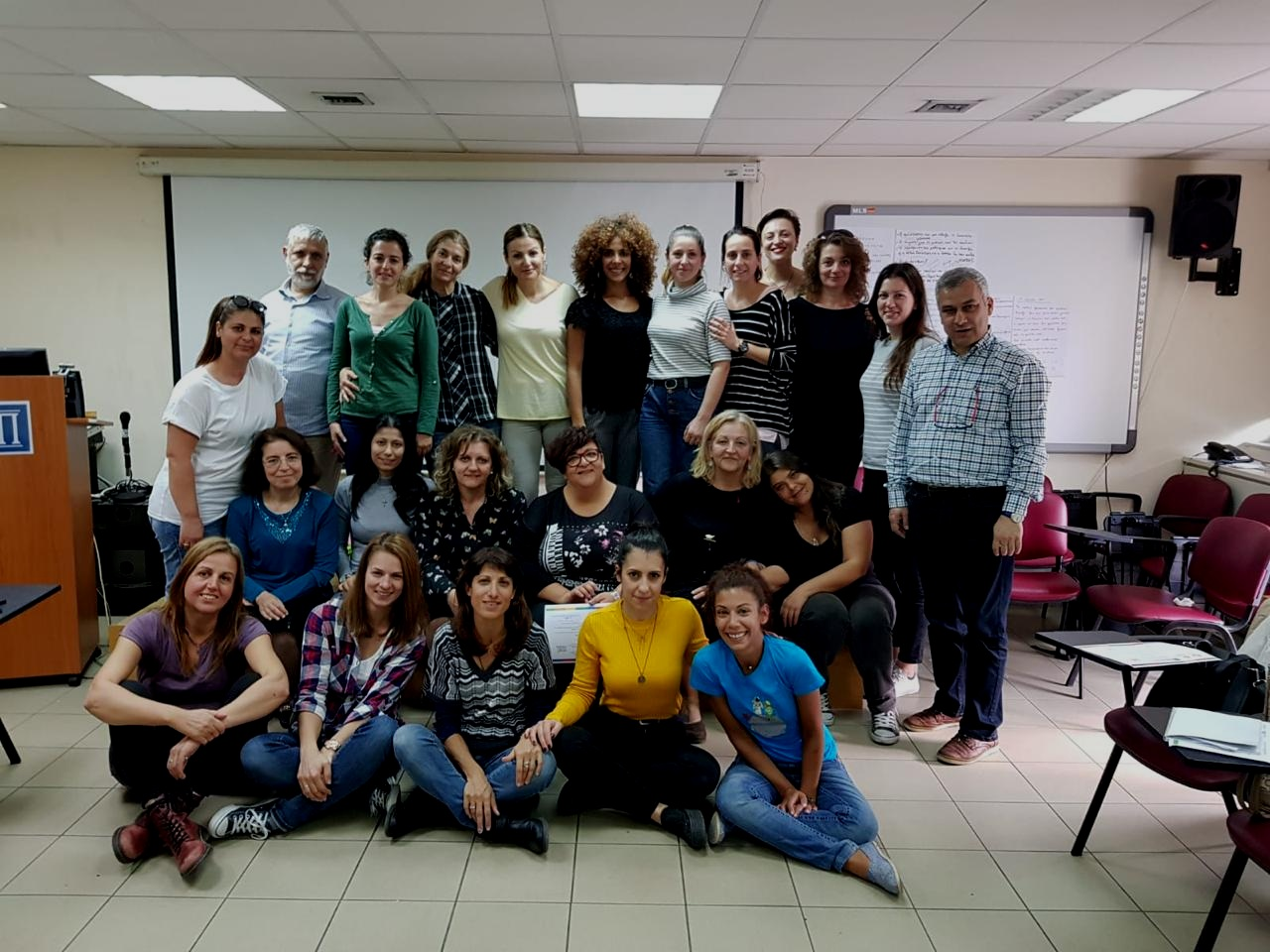 Teacher Training at the Greek Ministry of Education -