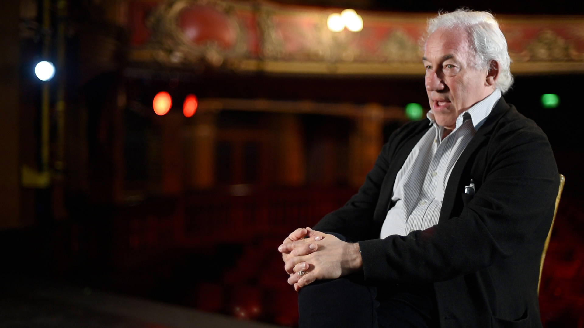 Actor Simon Callow distilled the magic of one of theatre architect Frank Matcham's Victorian masterpieces.