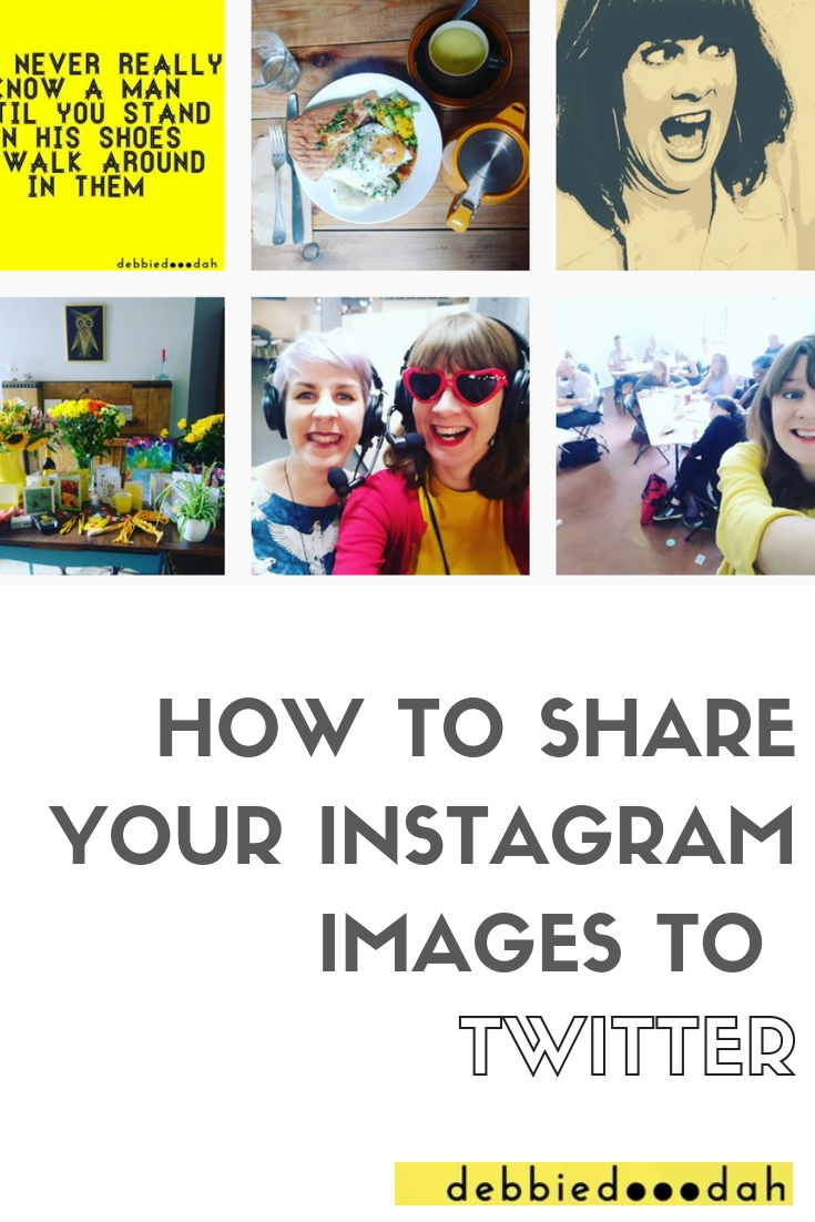 How to Share Your Instagram Images to Twitter