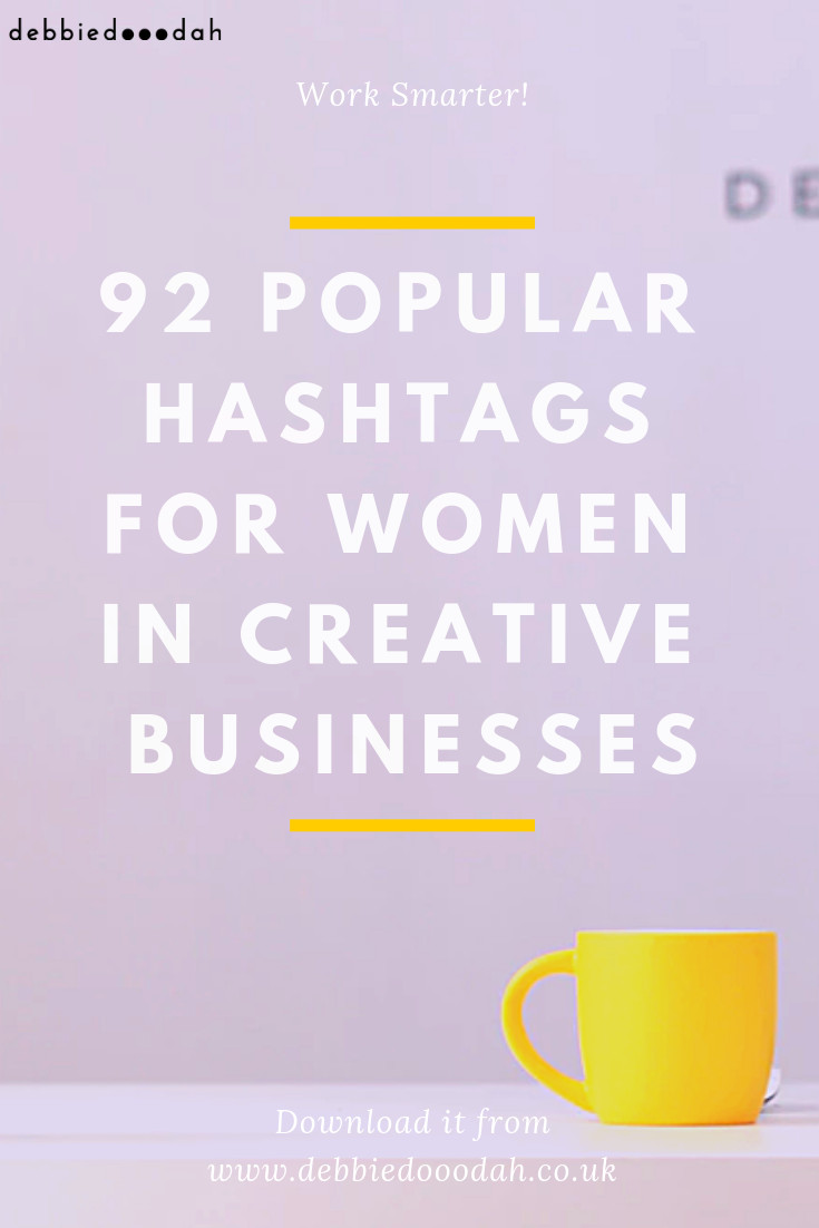 92 popular hashtags for women in creative businesses.png