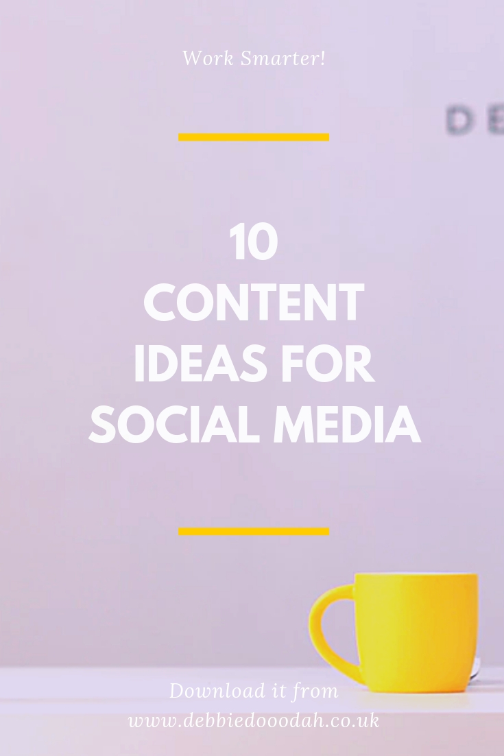 10 Content Ideas For Blogging, Facebook Lives And Social Media.jpg