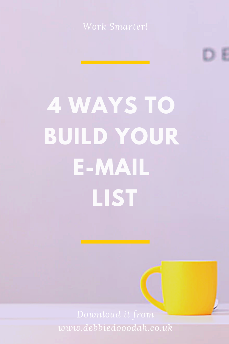 4 WAYS TO BUILD YOUR EMAIL LIST.png