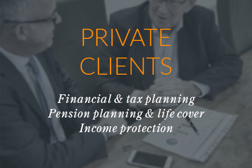 Financial & Tax Planning  Pension planning & Life Cover  Income Protection