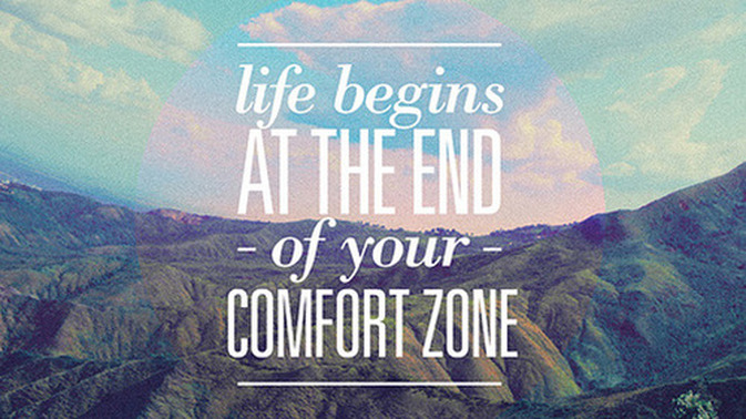 Be uncomfortable until it becomes comfortable. Be the change. Be the person you would want to be around.