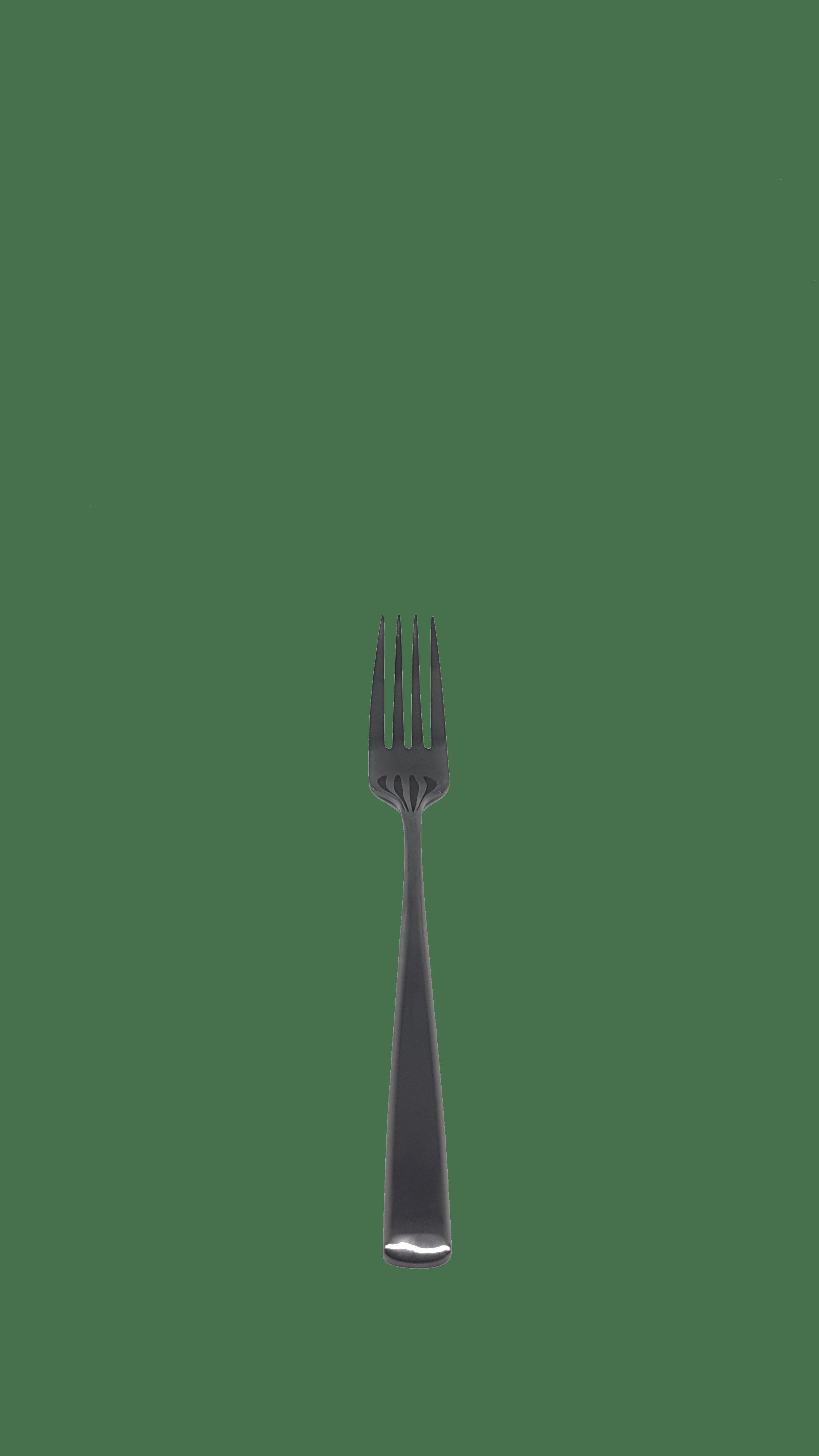Black Entree/Dessert Fork