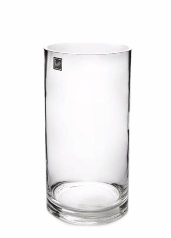 Glass Cylinder Vase 10cm x 26cm