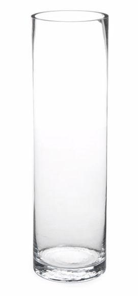 Glass Cylinder Vase 10cm x 40cm