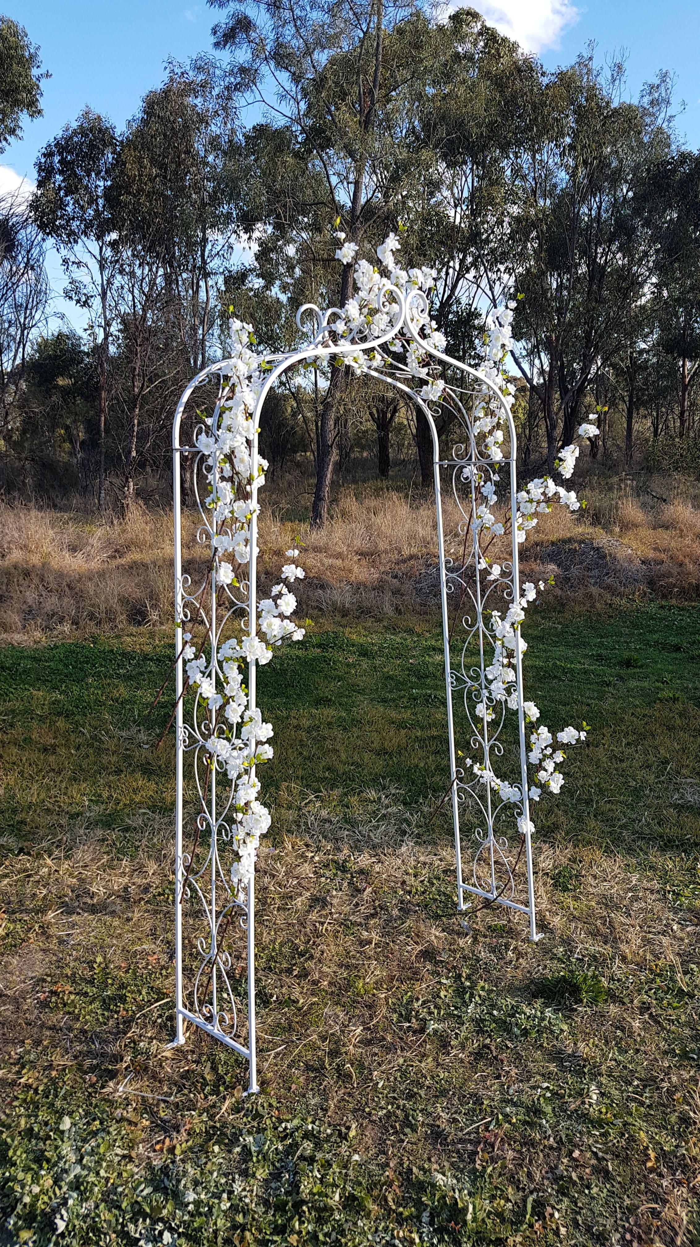 Artificial Cherry Blossom Arbour