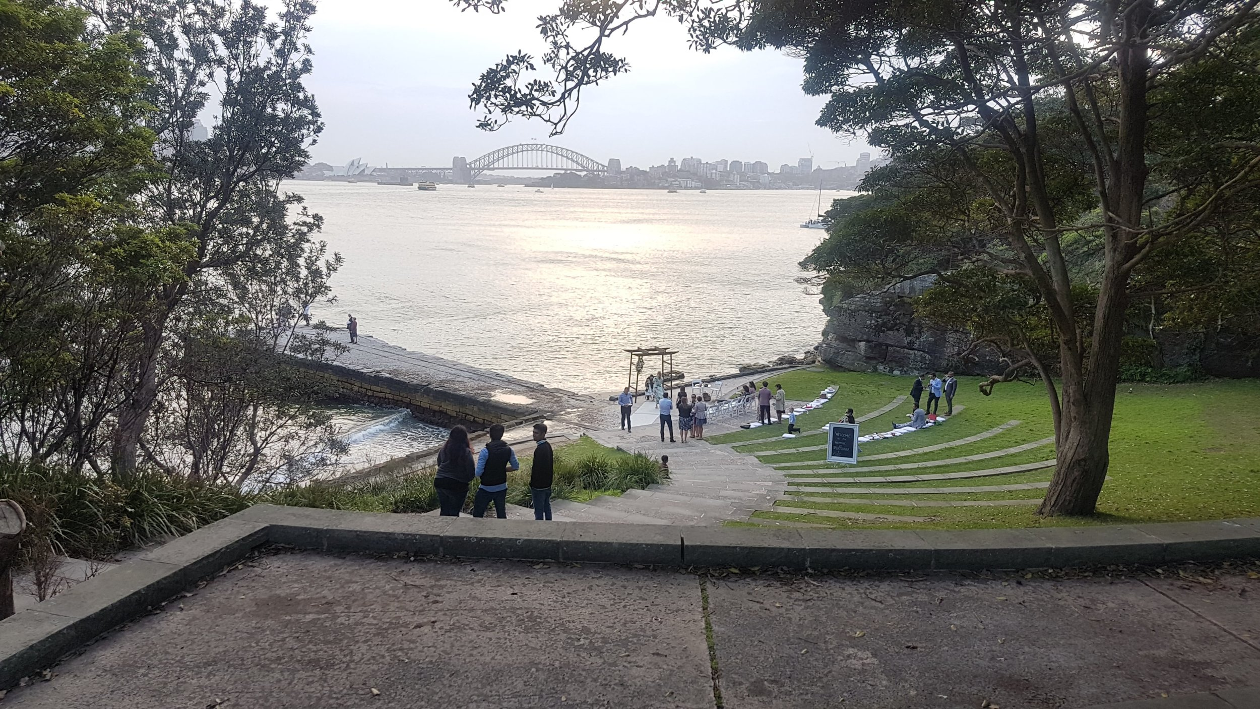 Bradleys Head Amphitheatre Sydney HArbour