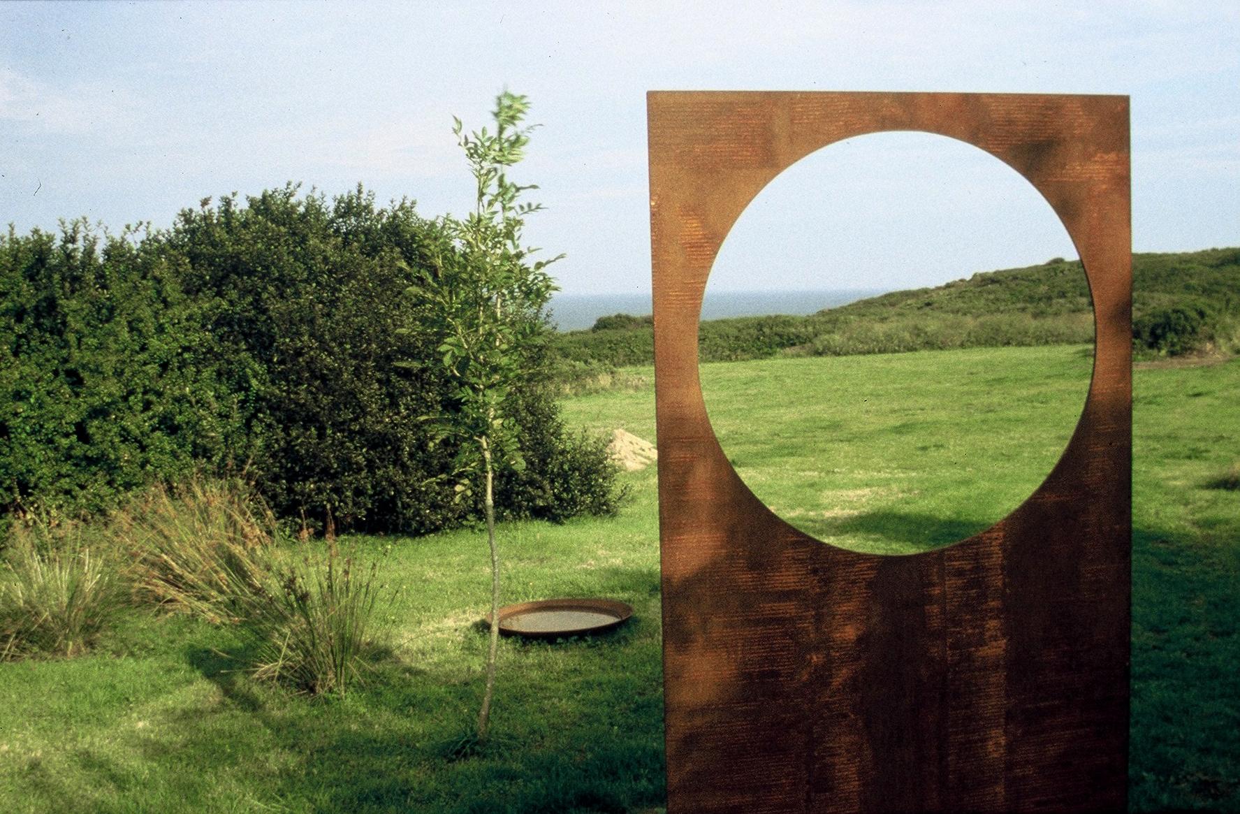 'A Small Walk no 4'  garden installation