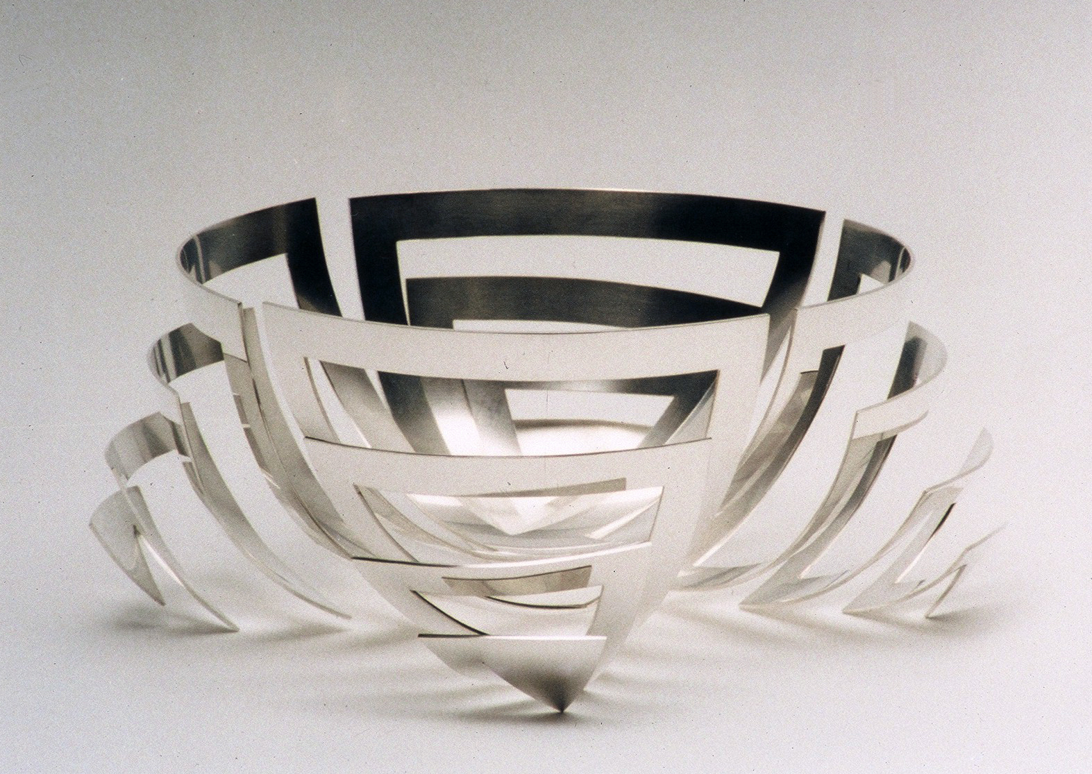 Large 'Nervous Bowl' in sterling silver