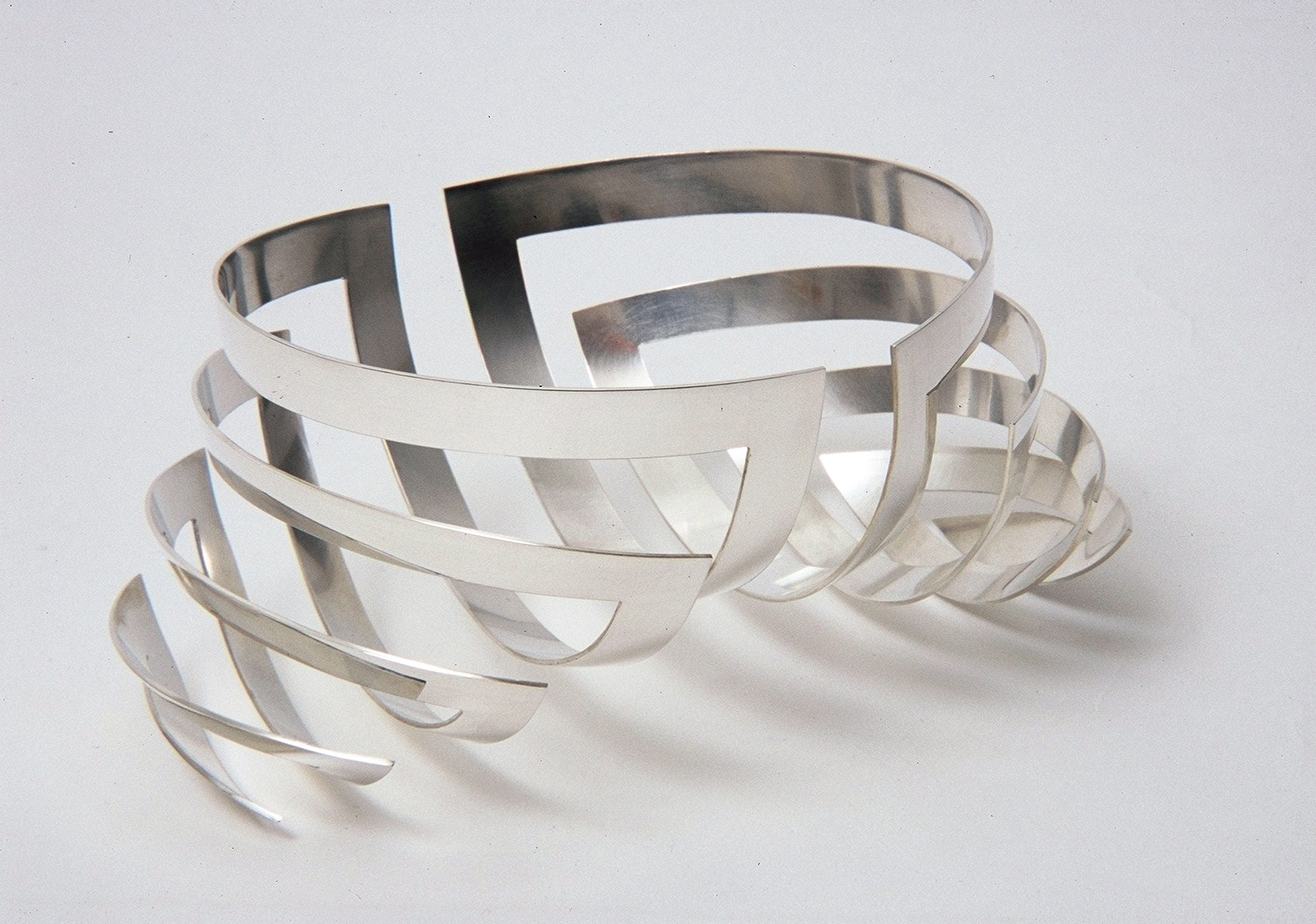 'Nervous Bowl' in sterling silver