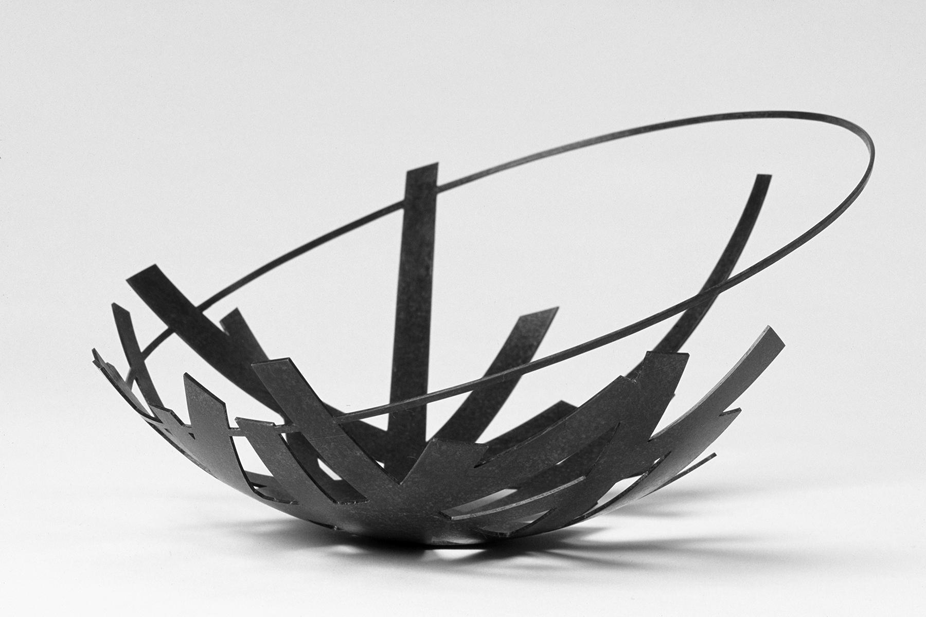 'Phantom Bowl' patinated copper
