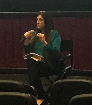 Human Trafficking - Dawn Schiller speaks to a packed auditorium in Bakersfield, CA, Jan 29, 2018