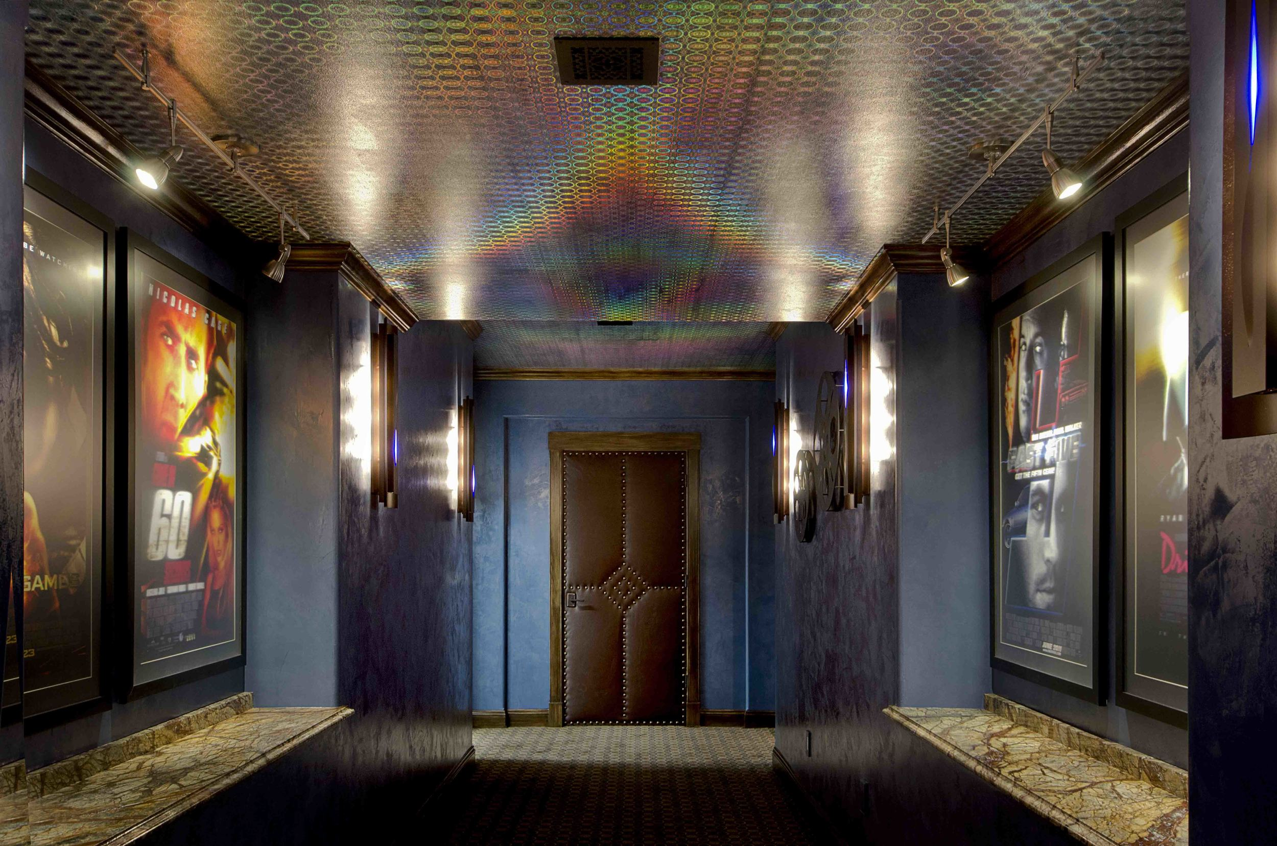 Holographic Ceiling Home Theater