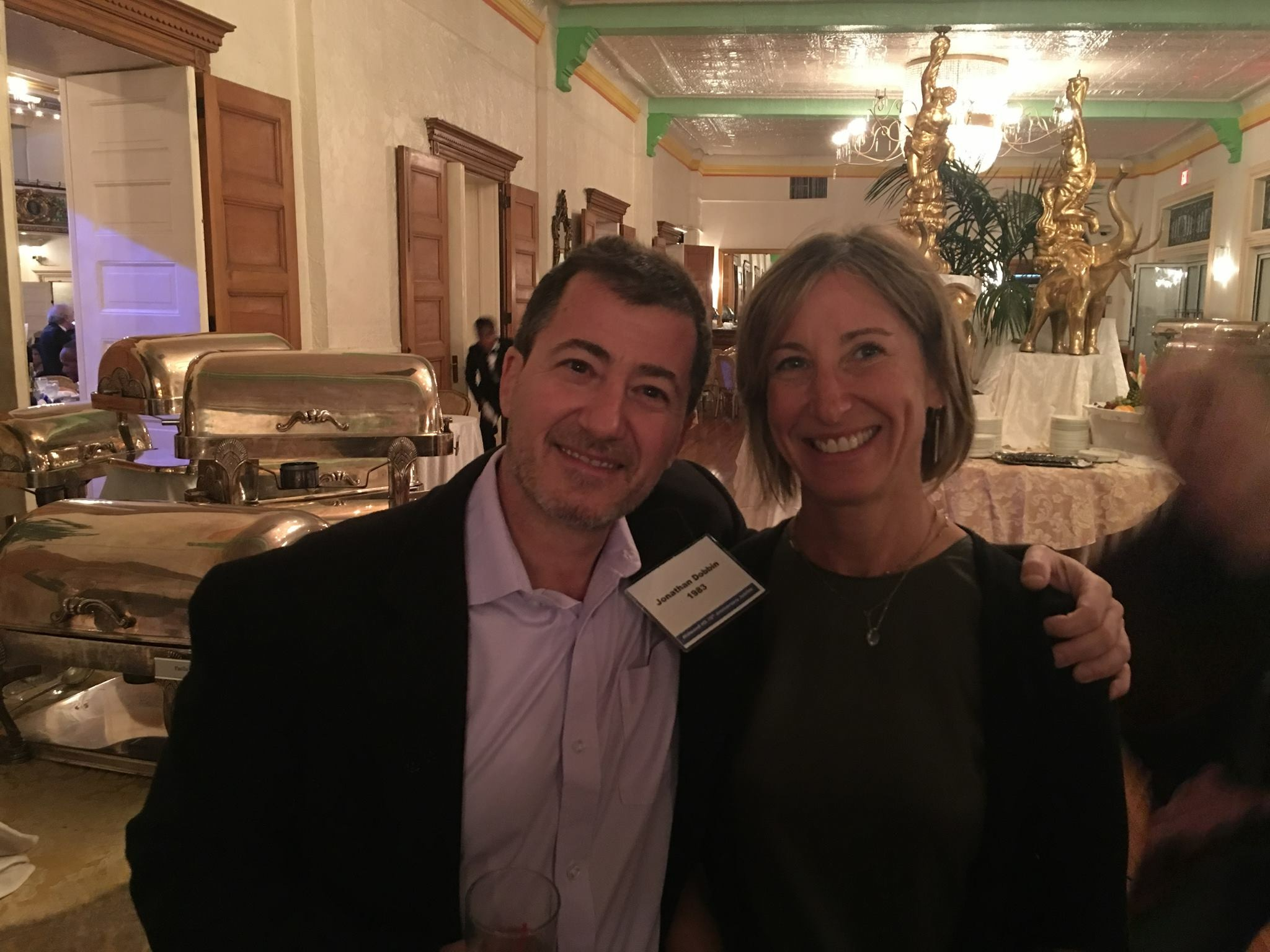 Jonathan Dobbin '83 & Nancy Kliot '83