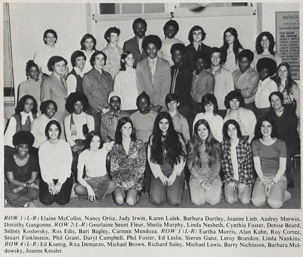 Midwood H.S.Mixed Chorus, 1972