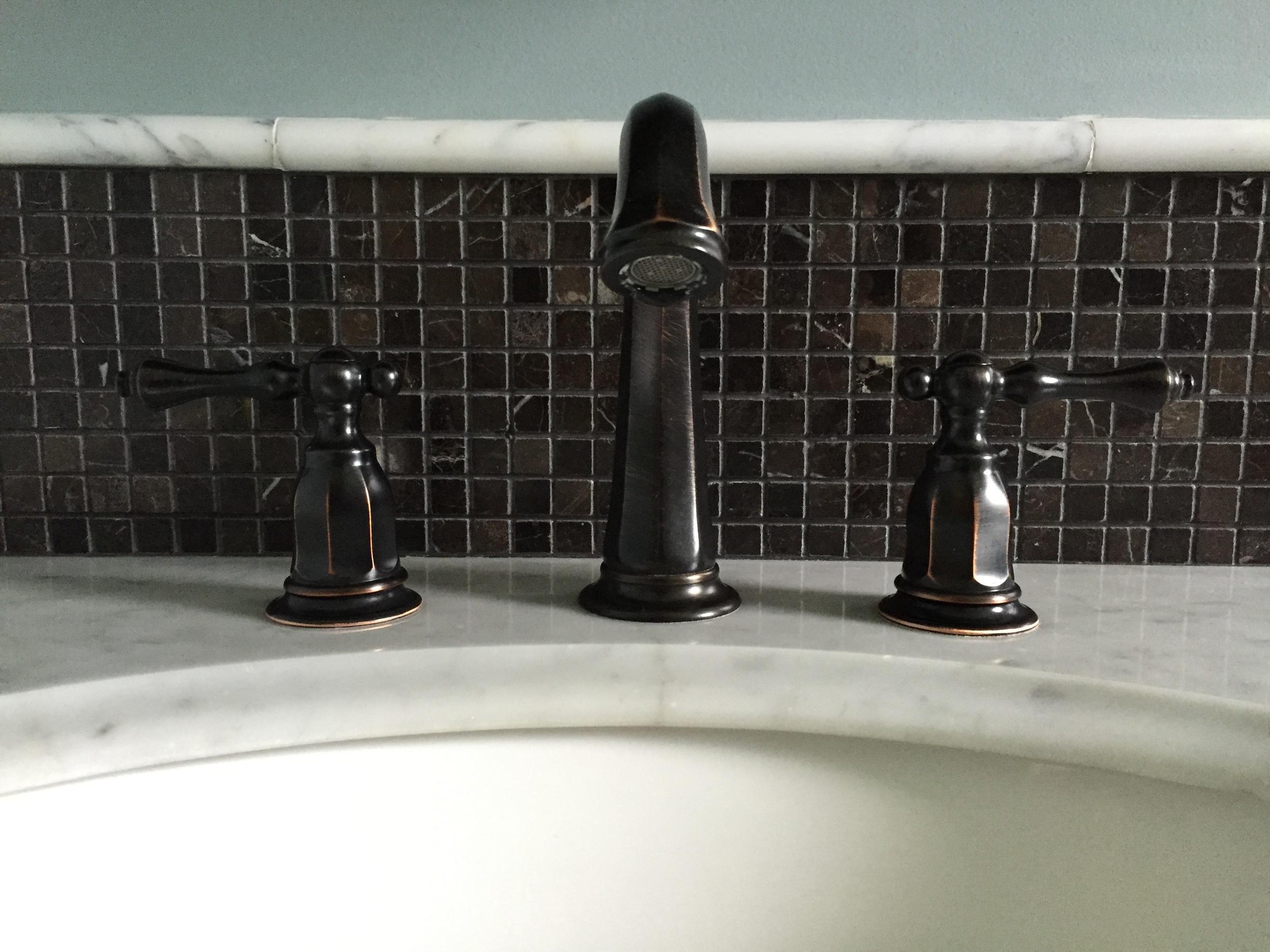 Bathroom Sink Marble Vanity Kohler