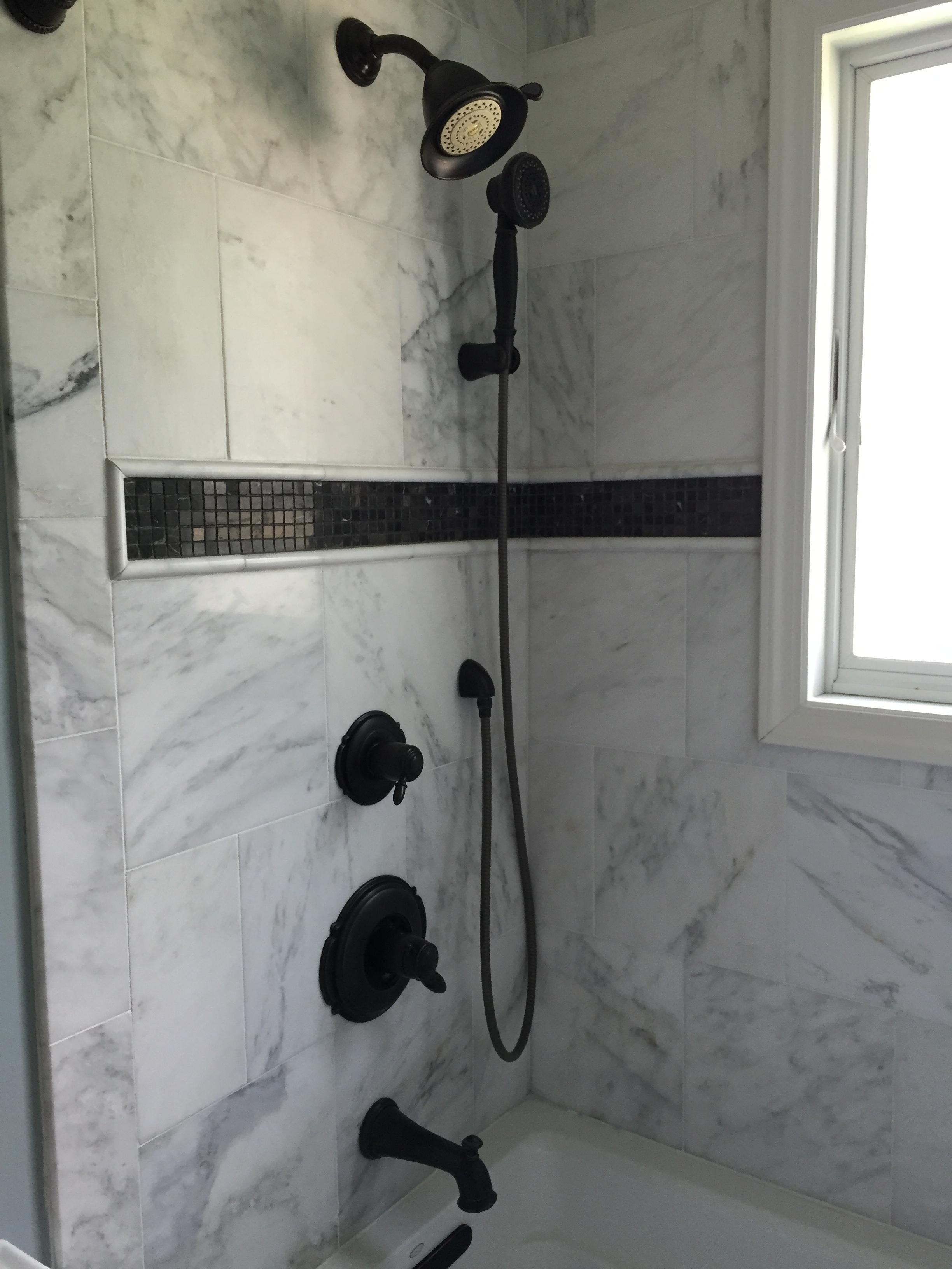 Bathroom Shower Carrera Marble