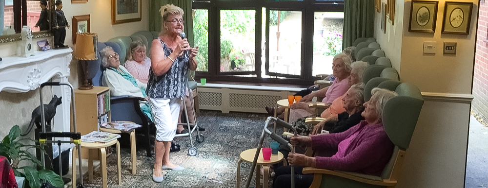 Brookdale House care home entertainment