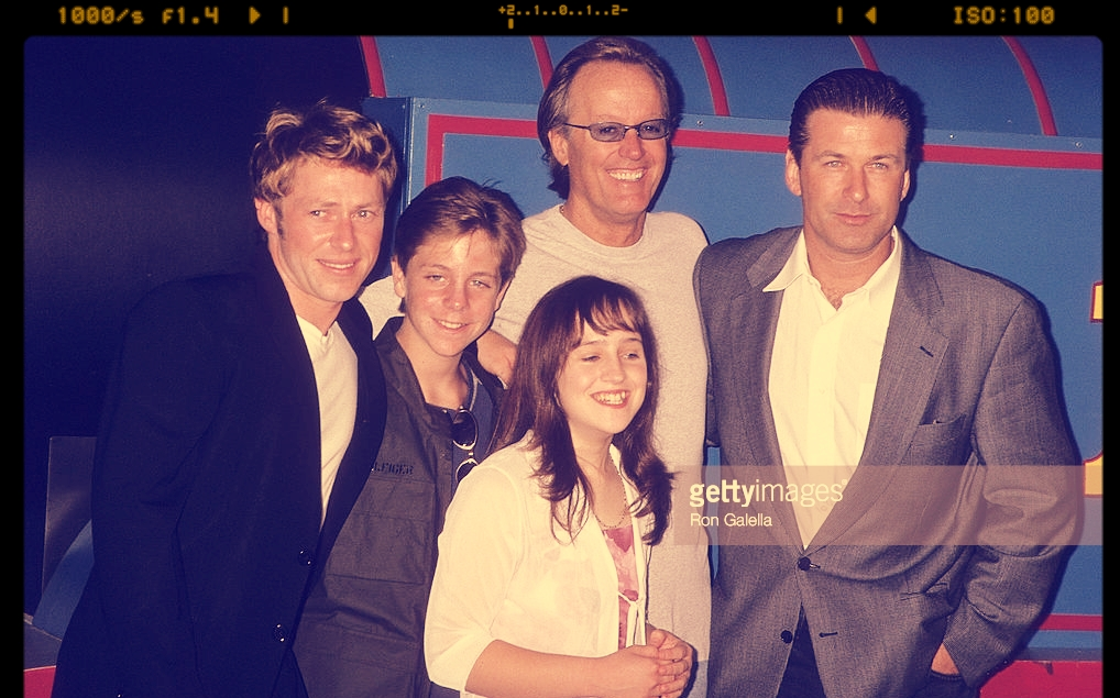 MICHAEL RODGERS WITH ALEC BALDWIN, PETER FONDA AND MARA WILSON PREMIERE OF TOMAS