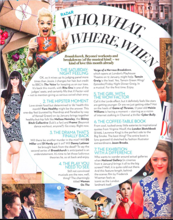 Marie Claire, July 2015