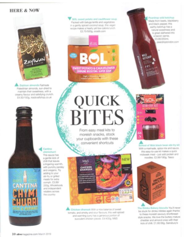Olive Magazine, March 2019