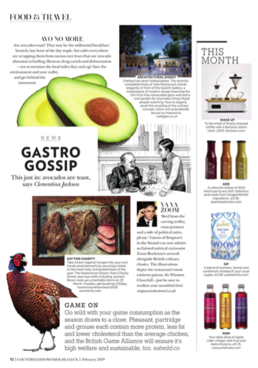 Country & Townhouse Magazine, February 2019