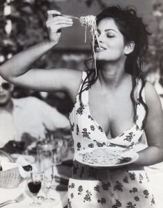"Sophia Loren: ""Everything you see I owe to spaghetti."""