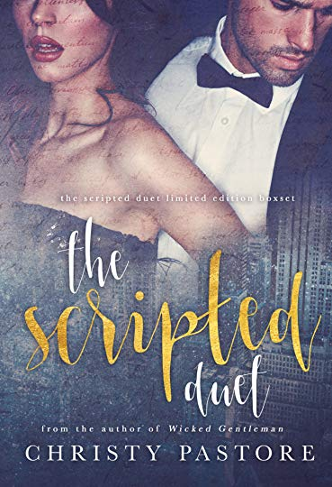 the scripted duet by christy pastore - Sexy and charming Hollywood actor with a dirty mouth; check. Strong and feisty heroine who can handle her man; check. This duet is the perfect escape for anyone looking for that vacation read, or that lazy, rainy day weekend where you just want to curl up in a blanket and get wrapped up in a romance that will have you believing in modern day fairytales.