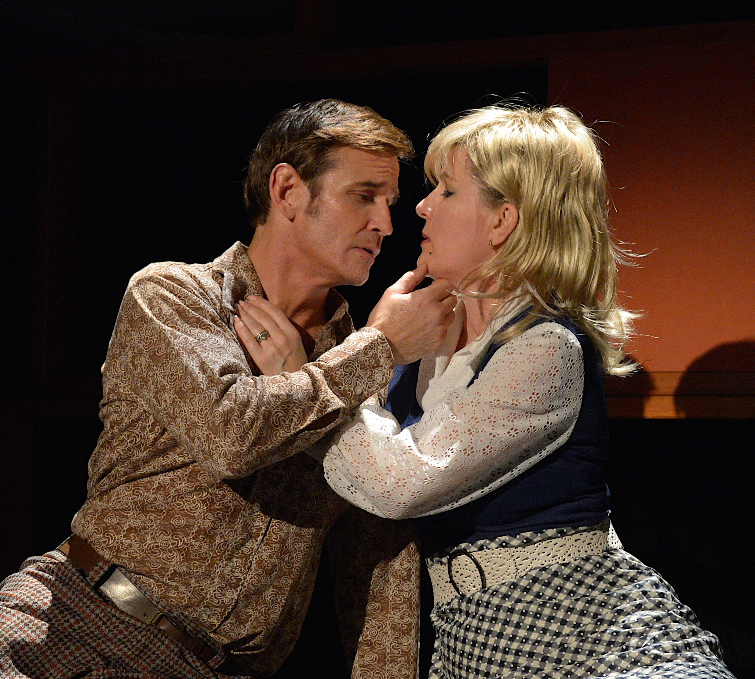 Sean McDermott (Mike) and Lori Hammel (Carol) - photo by Tom Henning