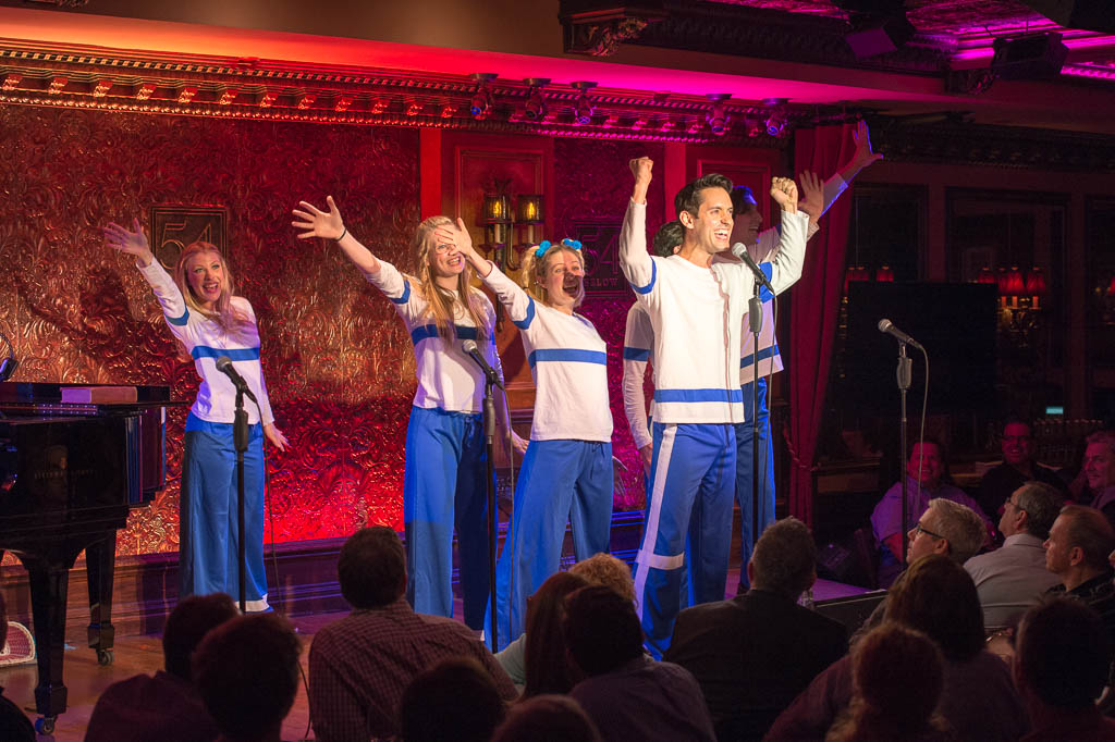 The Brady Kids at 54 Below - Photo by Tom Henning