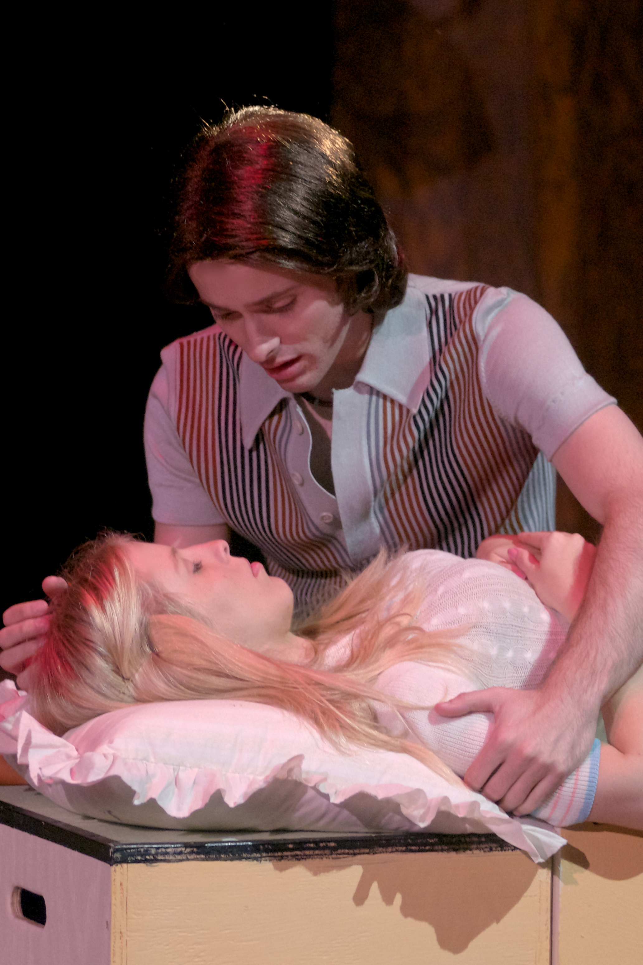 Erik Keiser (Keith), Cali Elizabeth Moore (Marcia) - photo by Tom Henning