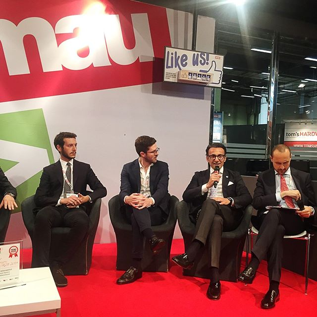 Today I was at Smau Live Show for @sanmarinoinnova talking about innovative solutions in the fintech sector, in the sales and marketing area, in the financial and administrative area.