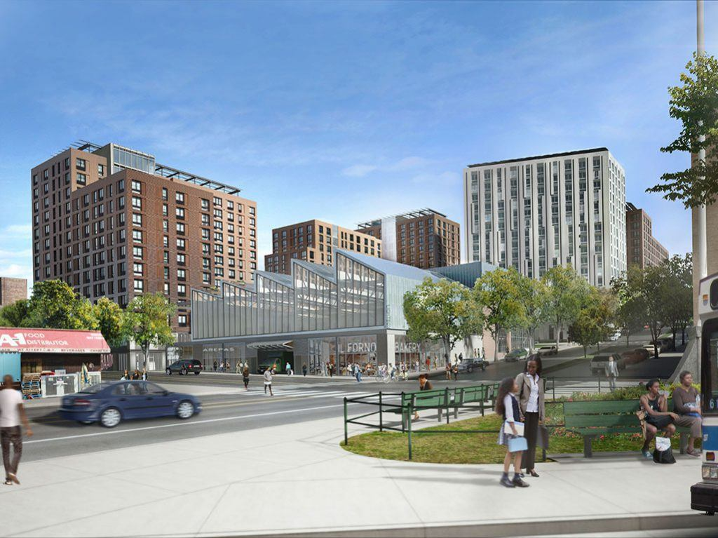 Rendering courtesy of WXY Architecture + Urban Design and Body Lawson Associates