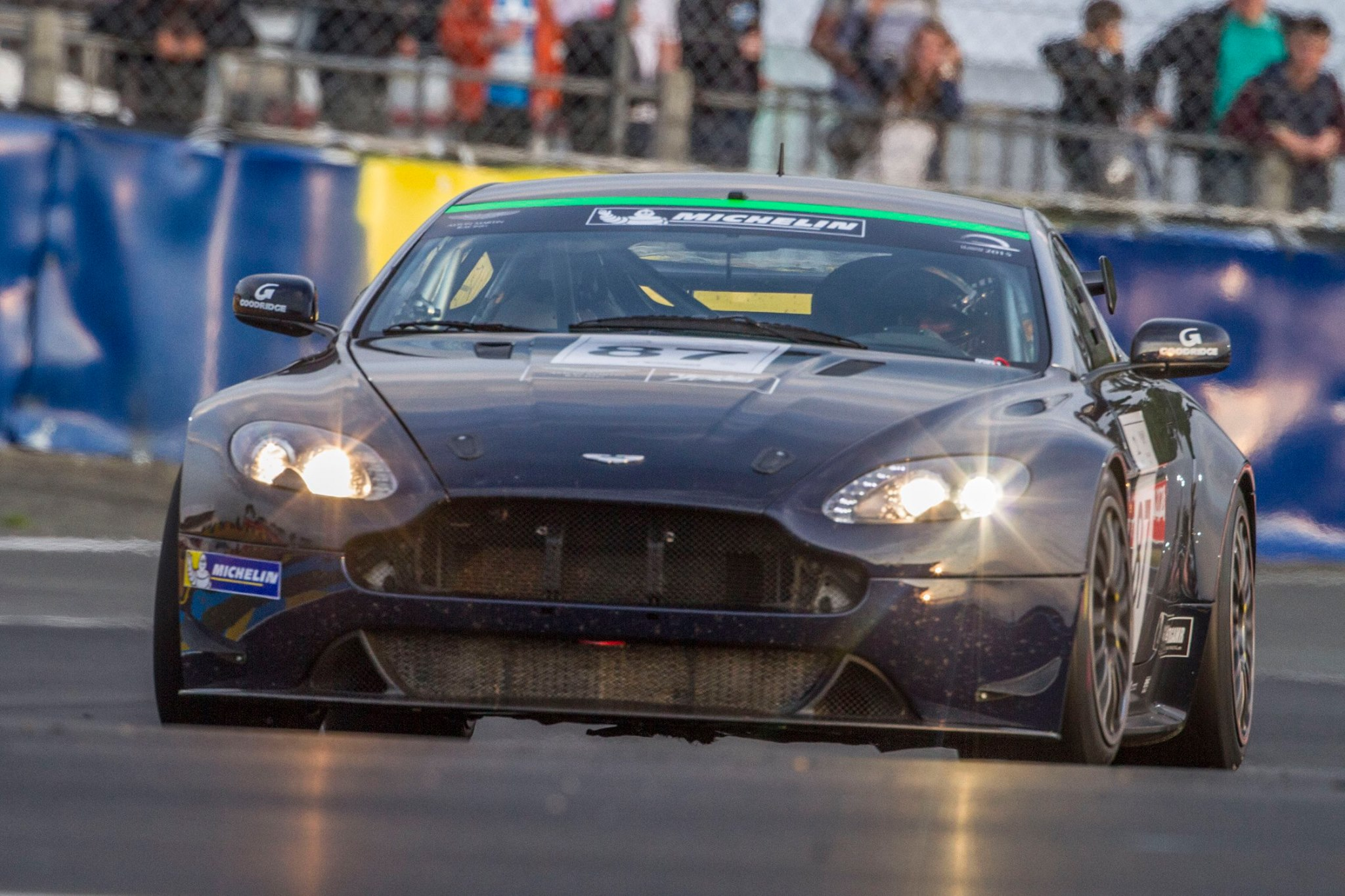 Churchill Prepared GT4 at Lemans24hr 2015