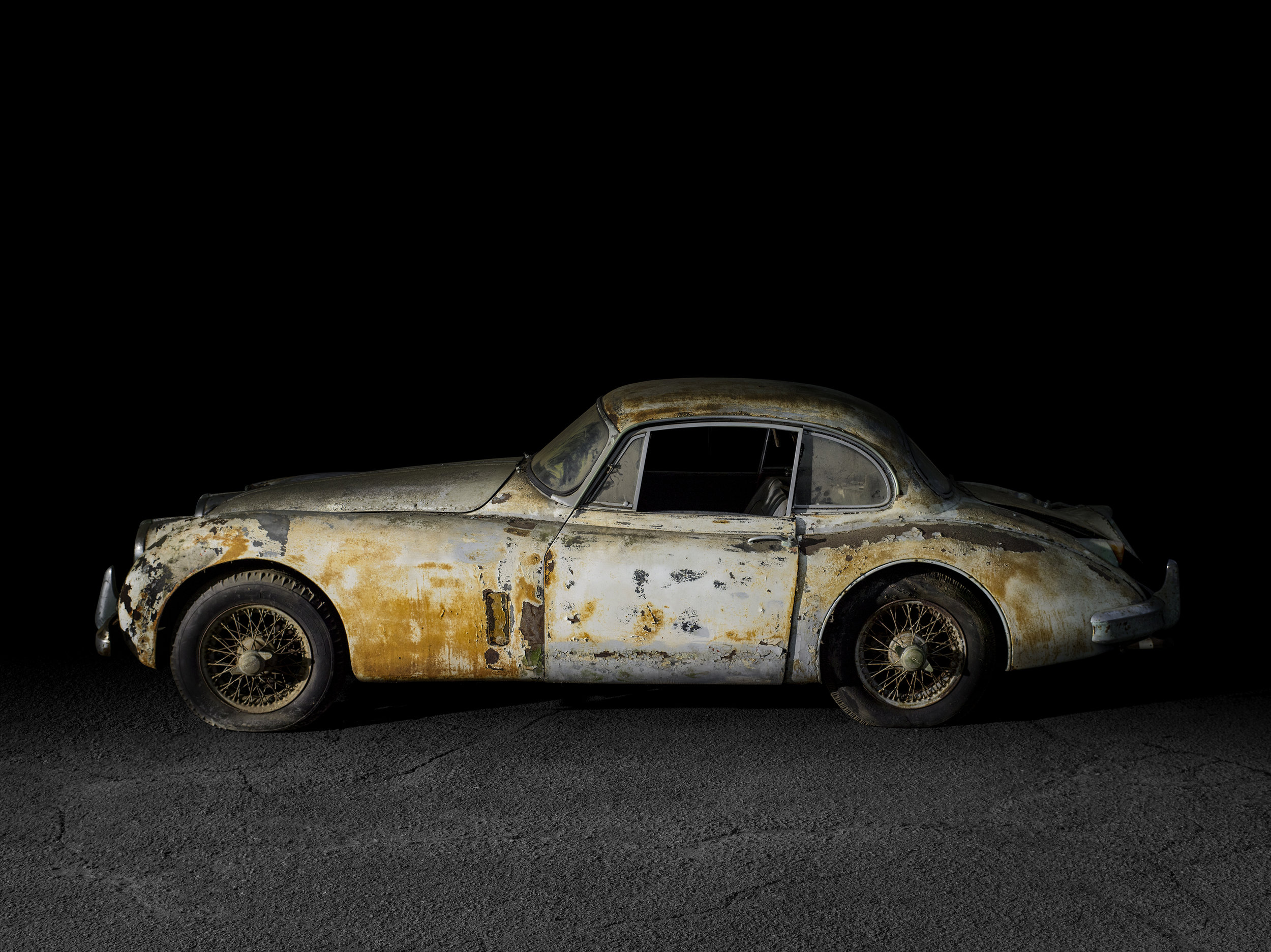 1957 Jaguar XK150 FHC - Barn Find - SOLD as is