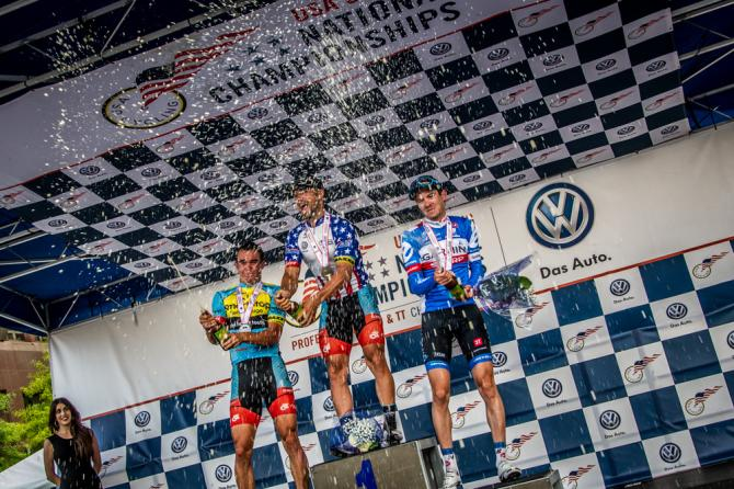 Eric Marcotte (originally from Marquette, MI) wins the 2014 US Pro Road Championship.  Eric got his start at the Superior Bikefest.   Read more from Cycling News.