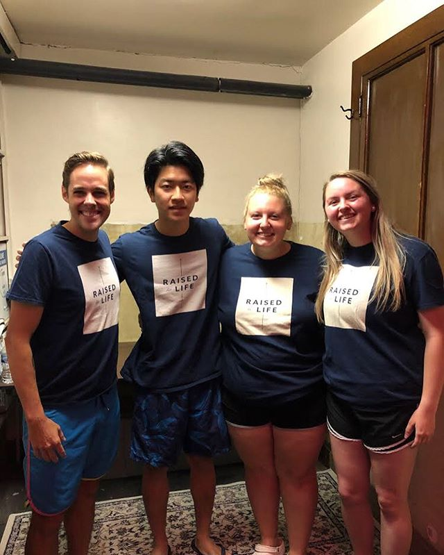 Talk about steps of faith this summer! The Lord is moving big time in our students. What started out with one student writing down baptism as her step of faith in the beginning of the mission turned into three students being baptized altogether. We are so proud of you three and we love watching you follow Jesus.