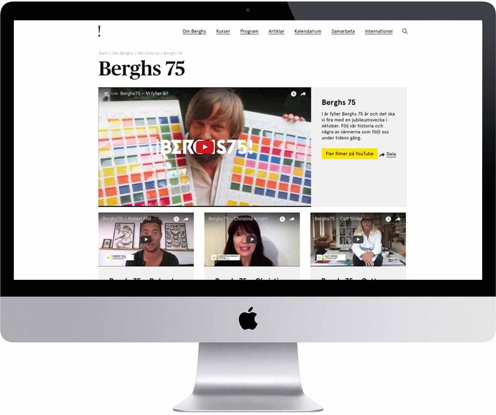 Berghs75 on  Berghs.se