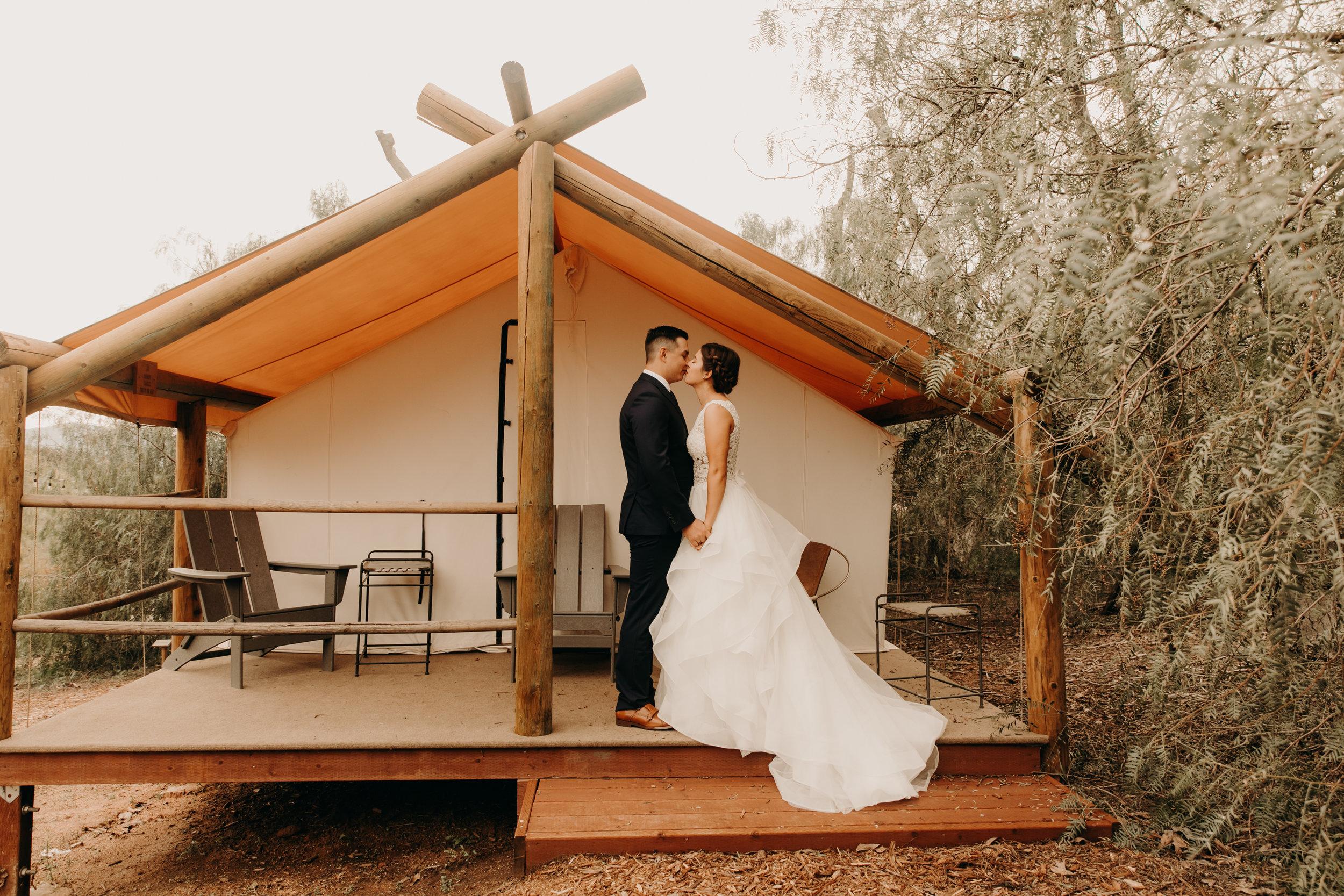 Beautiful San Diego wedding at Ethereal Open air Resort    Weddings