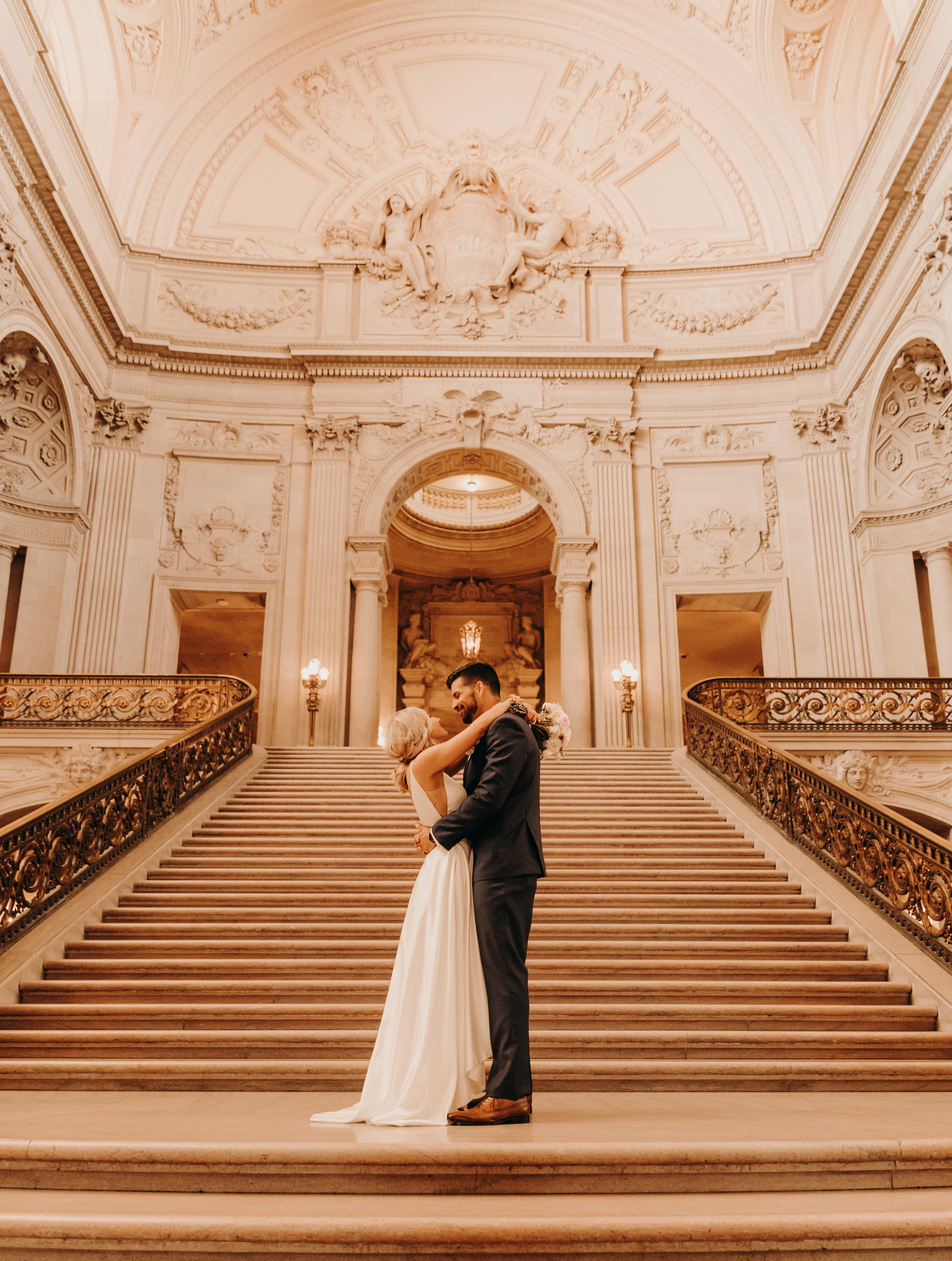 San Francisco City hall wedding    Weddings